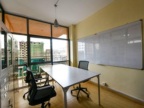 Image of the Waridi Hub Co-working space